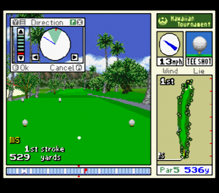Super Nintendo Waialae Country Club