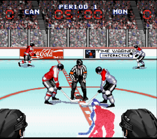 Super Nintendo Wayne Gretzky and the NHLPA All-Stars