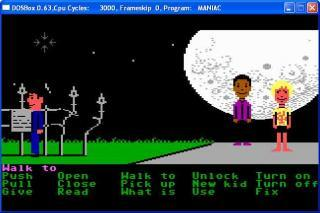 DOS Maniac Mansion