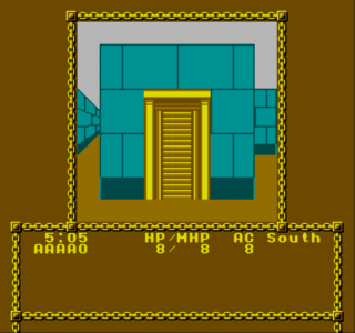 Dendy Advanced Dungeons & Dragons - Pool Radiance