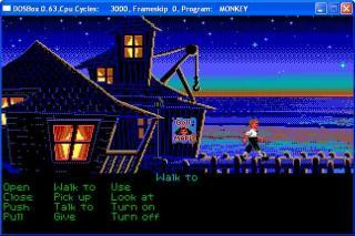 DOS The Secret of Monkey Island