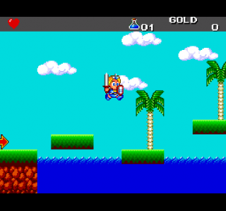 Turbografx Adventur Island