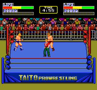 Turbografx Champion Wrestler