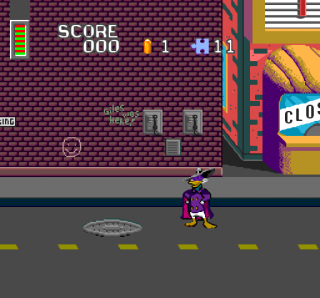 Turbografx Darkwing Duck