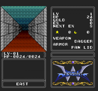 Turbografx Double Dungeons