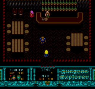 Turbografx Dungeon Explorer