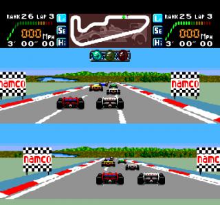 Turbografx Final Lap Twin