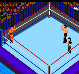 Turbografx Fire Pro Wrestling - 2nd Bout