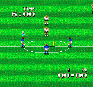 Turbografx Formation Soccer - Human Cup 90
