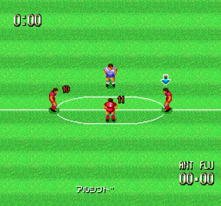Turbografx Formation Soccer on J. League