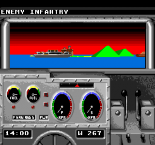 Turbografx Gunboat