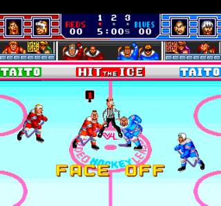 Turbografx Hit the Ice - VHL - The Video Hockey League