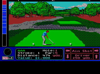 Turbografx Jack Nicklaus&#39 Turbo Golf