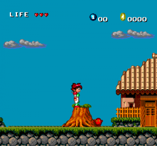 Turbografx Keith Courage in Alpha Zones