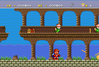 Turbografx Legend of Hero Tonma