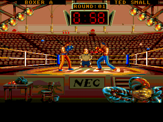 Turbografx Panza Kick Boxing