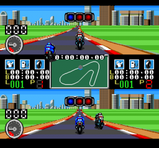 Turbografx Racing Damashii