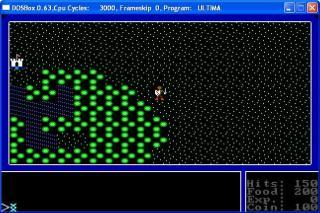 DOS Ultima 1 - The First Age of Darkness