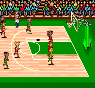 Turbografx USA Pro Basketball