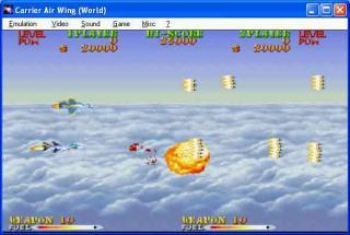 Capcom CPS1 Carrier Air Wing