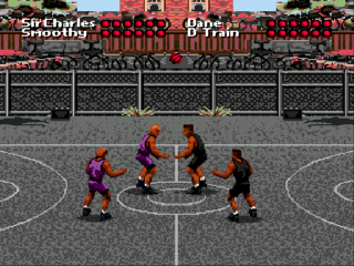 Sega Genesis Barkley Shut Up and Jam!