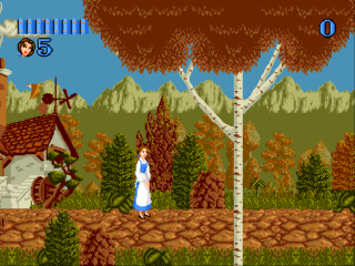 Sega Genesis Beauty and the Beast - Belle&#39s Quest