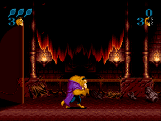 Sega Genesis Beauty and the Beast - Roar of the Beast