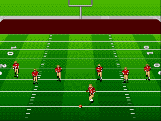 Sega Genesis Bill Walsh College Football 95