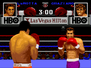 Sega Genesis Boxing Legends of the Ring