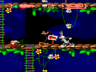Sega Genesis Bugs Bunny in Double Trouble