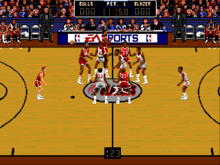 Sega Genesis Bulls vs Blazers and the NBA Playoffs