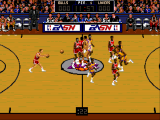 Sega Genesis Bulls vs Lakers
