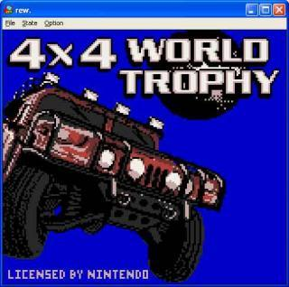 GameBoy 4x4 World Trophy
