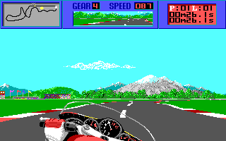 DOS The Cycles: International Grand Prix Racing