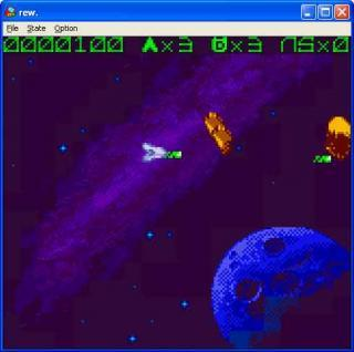 GameBoy Asteroids