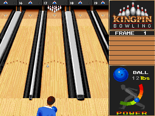 DOS Kingpin: Arcade Sports Bowling