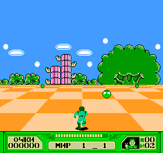 Dendy 3-D Battles of World Runner