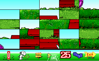 DOS Snoopy's Game Club