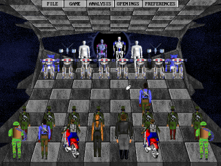 DOS Terminator 2: Judgment Day - Chess Wars
