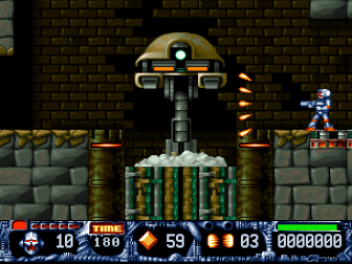 DOS Turrican II: The Final Fight