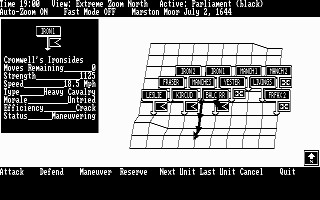 DOS UMS: The Universal Military Simulator