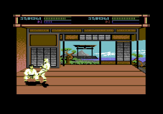 Commodore 64 Budokan The Martial Spirit