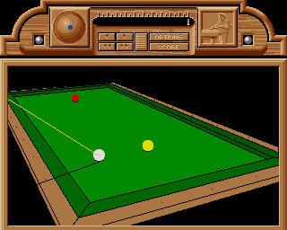DOS Billiards Simulator