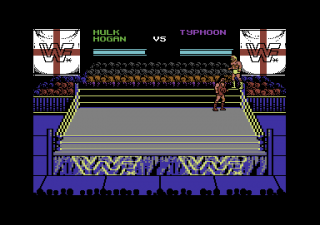 Commodore 64 WWF European Rampage Tour