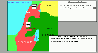 DOS Conflict: Middle-East Political Simulator