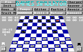 DOS Dames Simulator