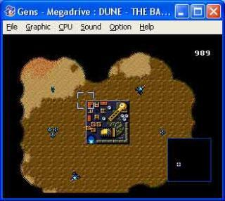 Sega Genesis Dune II: The Battle for Arrakis