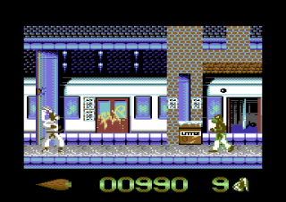 Commodore 64 Ninja Rabbits