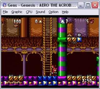 Sega Genesis Aero the Acro-Bat