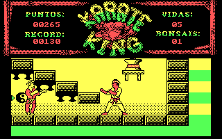 DOS Karate King